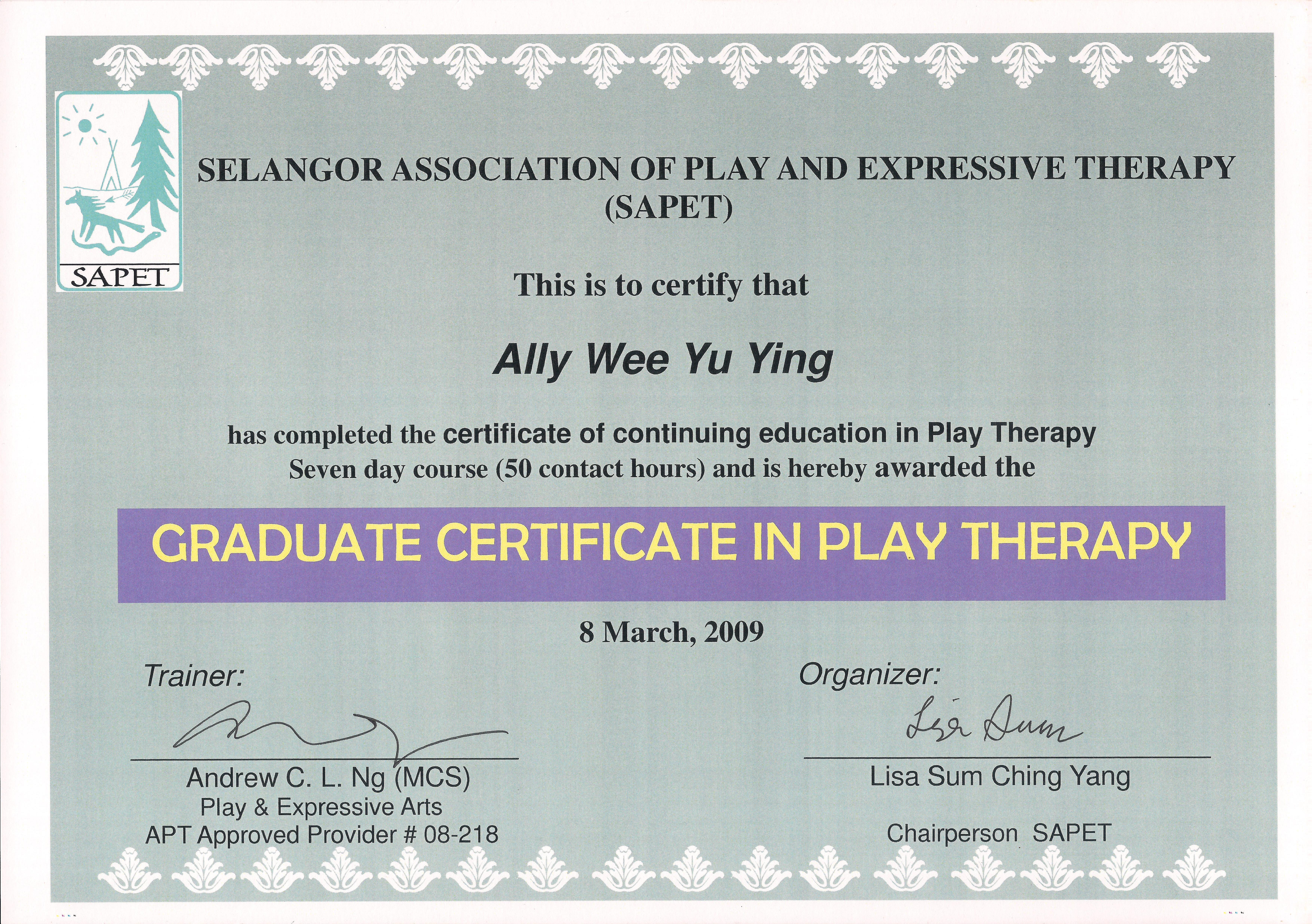 Teamally page oikos counseling graduated cert in the wonder of play therapy 1betcityfo Gallery